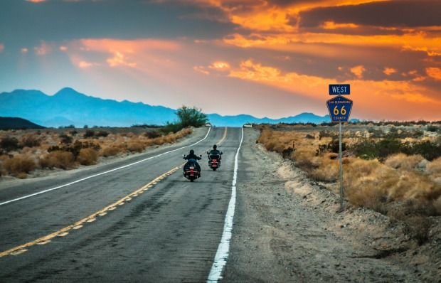 ROUTE 66, USA: A road trip in nostalgia, Route 66 was once the main route from Chicago to California and for many, the ...