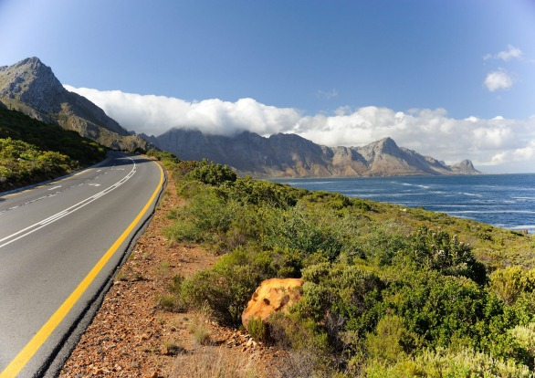 THE GARDEN ROUTE, SOUTH AFRICA: Hugging the curve of the coast around the very southern tip of Africa from Cape Town to ...