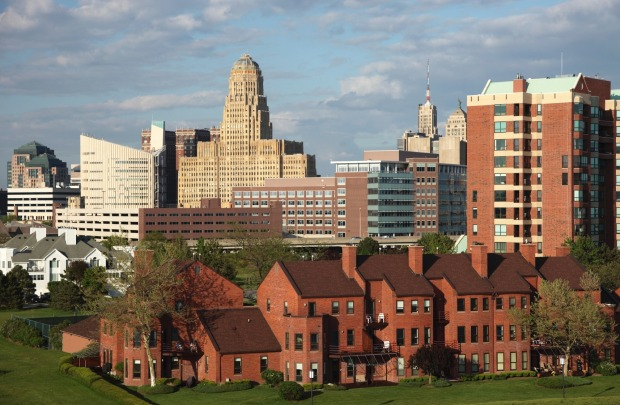 7. Buffalo, New York: A wealthy industrial power-house at the turn of the 20th century, Buffalo later fell on hard ...