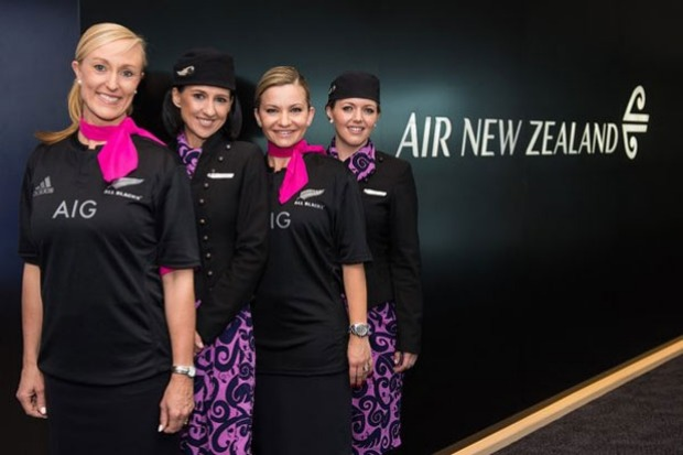 Qantas swallowed its pride, offered up congratulations, and had staff put on the jerseys.