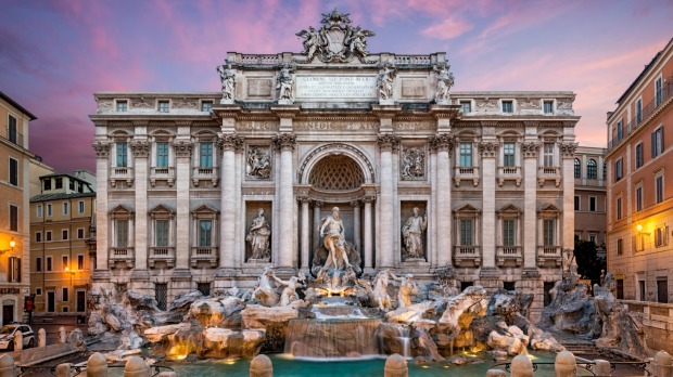 Fontana di Trevi: One of the most famous and beautiful fountains in the world.