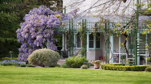 Descendants of Melba still come to stay at the house at The Melba Estate, Yarra Valley.