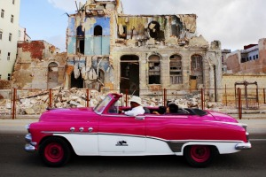 Havana still celebrates the classic American automobile.