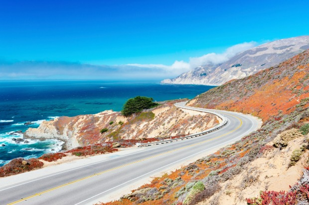 PACIFIC COAST HIGHWAY, USA: California's famous coast road, Highway 1, is a spectacular ribbon of road between San ...