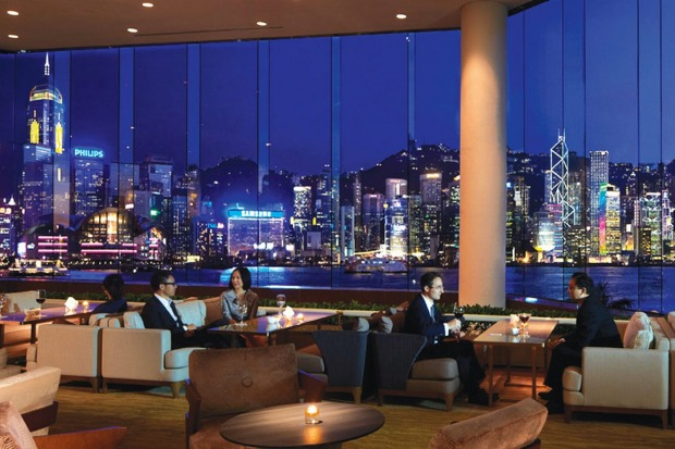 One of the best waterfront hotels: The Intercontinental Hotel Hong Kong. Open your curtains for the full dazzling sweep ...