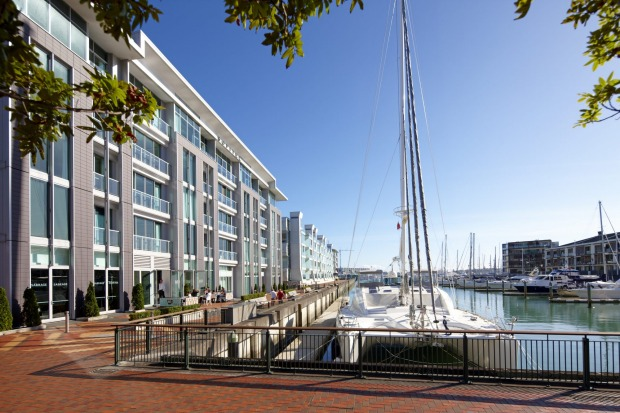 One of the best waterfront hotels: Sofitel Auckland Viaduct Harbour. Some rooms provide outlooks onto yachts and ...