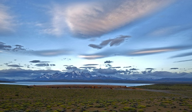 Tierra Patagonia is nestled into the landscape so well it's almost invisible.