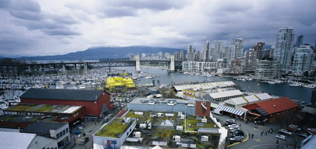 Granville Island, Vancouver, Canada: This former industrial area underwent a hugely successful redevelopment and now ...