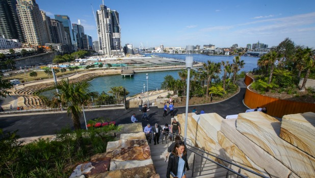 Barangaroo Indigenous tours: Sydney's newest park from a different