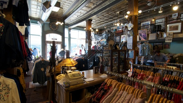 Rockmount Ranch Wear is the oldest store in Denver's historic Lower Downtown district.