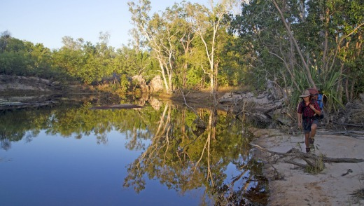 The Edith River is near the finish line of the Jatbula Trail.