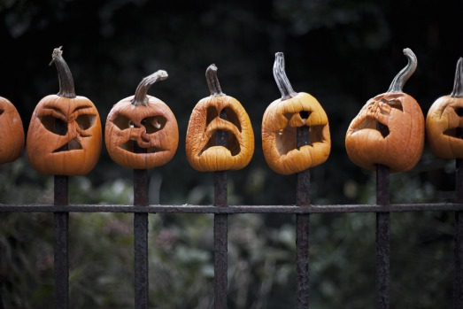HALLOWEEN, USA: It began as a pagan festival when Irish Celts would attempt to fend off evil spirits with morbid ...