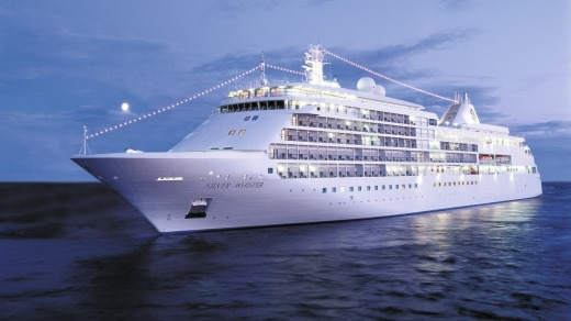Silver Whisper gives passengers a touch of the high life and even hosts guest lecturers.