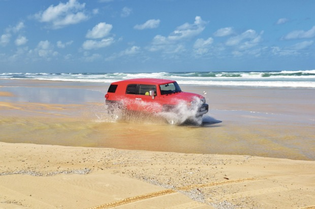 You can't beat the freedom of a drive along the hidden beaches of the Sunshine Coast.