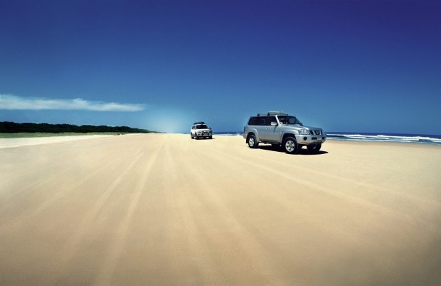 Seventy Five Mile Beach, Fraser Island.