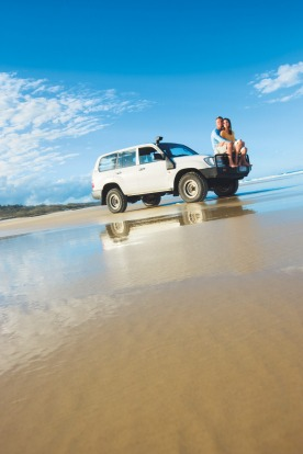 Great Beach Drive is about as close as you can get to the sea in with four wheels without getting wet.