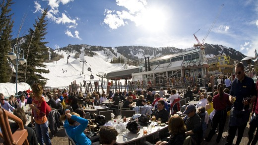 The Ajax Tavern is the best place to go after skiing to experience the best of Aspen hospitality.