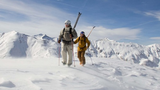 You can access Aspen's  amazing back country on a 10th Mountain Hut division ski tour.