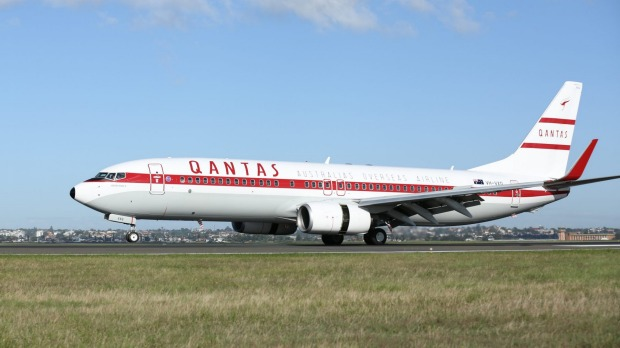 Qantas Retro Roo II is the second Boeing 737 to get the vintage treatment.