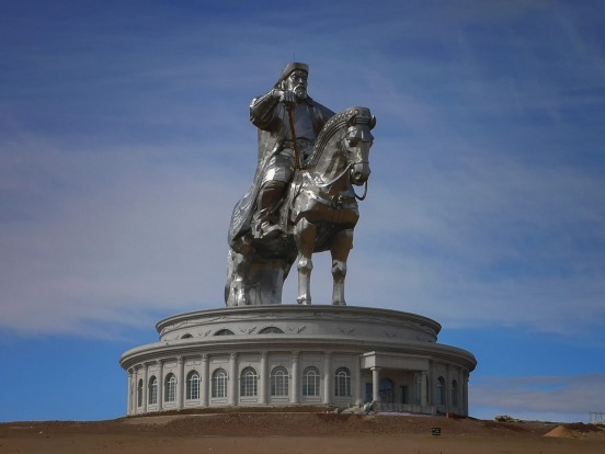 Genghis Khan statue, Mongolia: So there you are, cruising the Mongolian steppe in a clunky old Landcruiser, rumbling ...