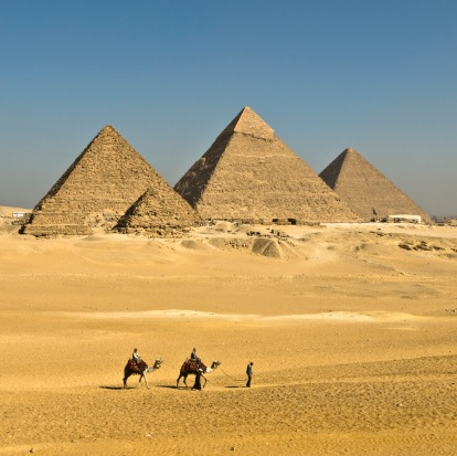 Pyramids of Giza, Egypt: These are another of those travelling clichés that live up to their billing, a truly incredible ...