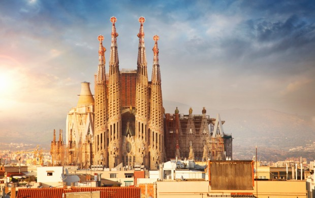 La Sagrada Familia, Barcelona: Just when you think you can't face another cathedral, that you've seen all the vaulted ...