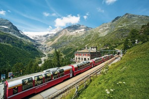 Take your time and try a classic Swiss rail journey.