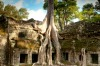 Ta Prohm, Cambodia: Everyone goes to Siem Reap to see Angkor Wat, and everyone leaves talking about Ta Prohm. This is ...