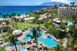 Fairmont Kea Lani has a private beach, adults-only pool and family pool with a waterslide.