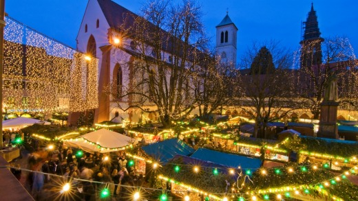 Christmas markets are a highlight of December in Europe.