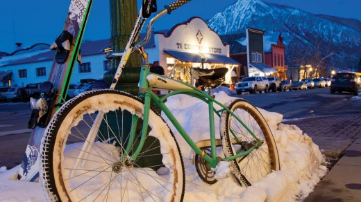 Everything about Crested Butte is retro from its silver mining era streetscape to its residents and the bikes they ride ...