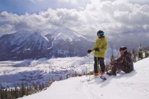 Crested Butte has some of the highest peaks in Colorado.