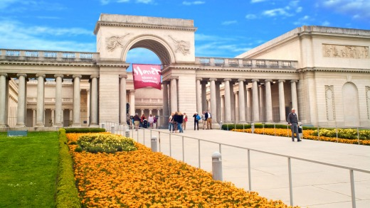 California Palace of the Legion of Honor in Lincoln Park.
