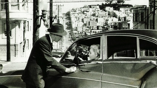 San Francisco's famous hills form the backdrop to Hitchcock's tale about obsession.