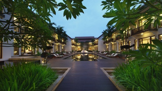 Anantara Resort and Spa in Siem Reap, Cambodia.