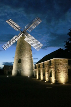 After months of restoration the Flour Mill at Oatlands in Tasmania is a commercial entity by day and a floodlit delight ...