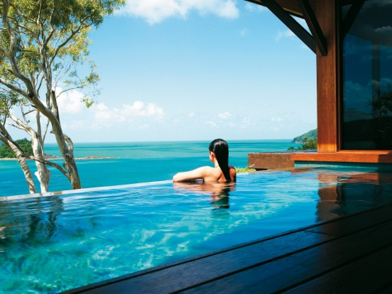 Windward Pavilions at Qualia feature private plunge pools.