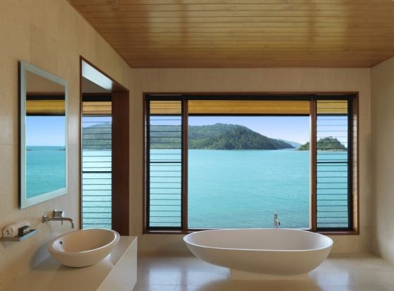 Enjoy the view from your bath.