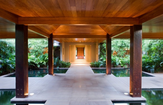 The spa at Qualia.