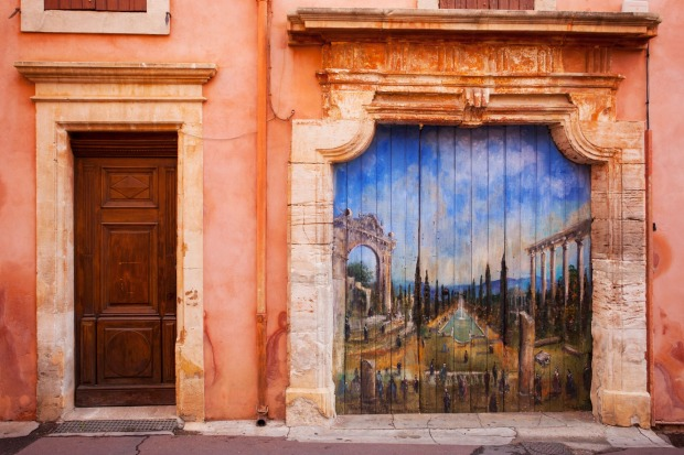 ROUSSILLON: Roussillon is, for many tourists, the most striking village perche of them all. Unlike the majority, which ...