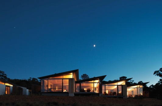 Unquestionably the luxury lodge that sets the standard in Tasmania, if not Australia.