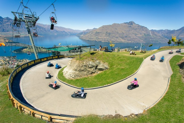 LUGING: Queenstown isn't exactly short of adrenalin rushes, but one of the weirdest is also the most fun for soft ...
