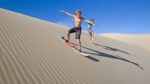 A Port Stephens 4WD sandboarding tour will have you whooping, as you rollercoaster your way out to the dunes – before ...