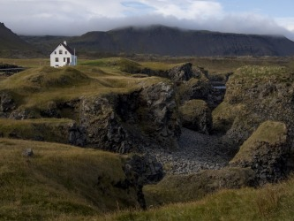 Building a house in mundane location in rural Iceland is nearly impossible. If you tire of the rugged, misty volcanic ...