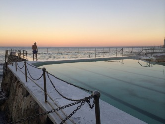 Bondi Icebergs November 2015. I love the stillness that this photo captures, the evening air that you can feel on your ...
