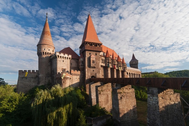 CORVIN CASTLE: This striking gothic stone castle has played host to both royals and criminals and stands out for its ...