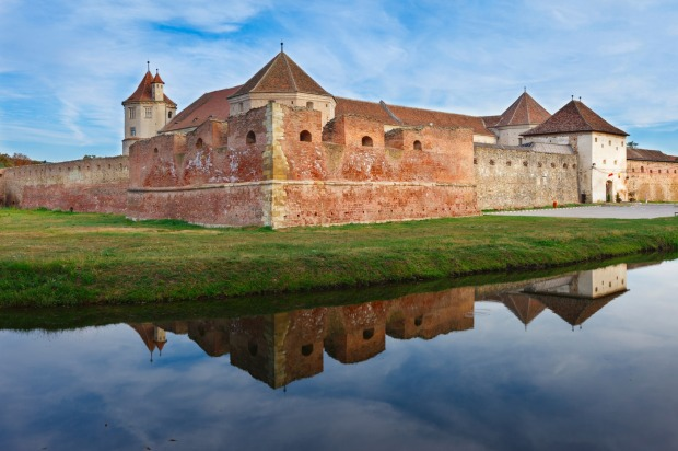FAGARAS FORTRESS✓Constructed on the site of a former wooden fortress, Fagaras Fortress is a dramatic construction that's ...