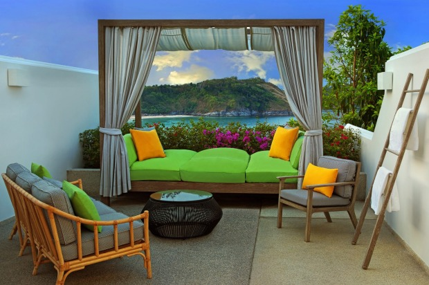 The Nai Harn, Phuket, Thailand: It's the only hotel directly on the ocean at Nai Harn beach and all 130 rooms and suites ...