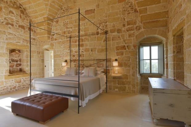 Masseria Trapana, Puglia, Italy: The bijou property in a 16th-century country farmhouse features nine stylish suites set ...