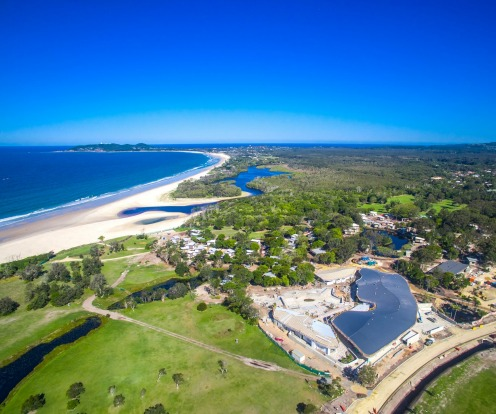 Elements of Byron Resort and Spa, Byron Bay: The resort's $100 million 20-hectare site has two kilometres of absolute ...